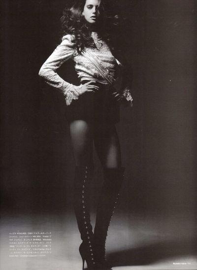 Emily Didonato - Dazzling Noir - Numero Tokyo January February 2010-2