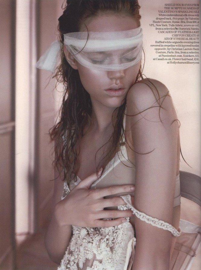 CoutureStripped1-by Javier Vallhonrat in Vogue UK