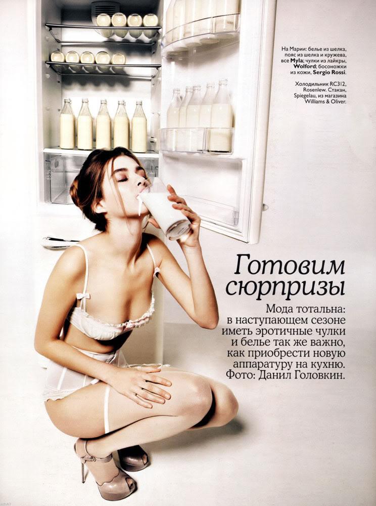 Marya Timonina in Russian Vogue January 2010-4