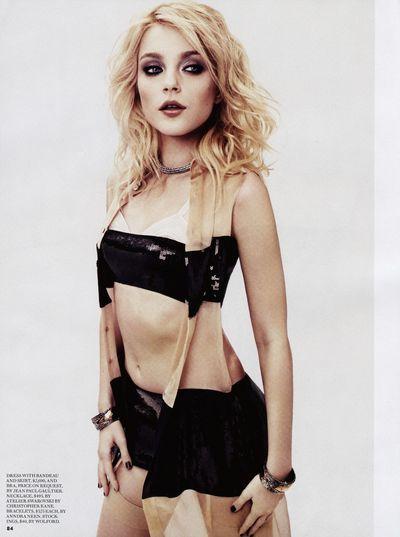Fashion Feb '10 Jessica Stam by Derek Kettela-4