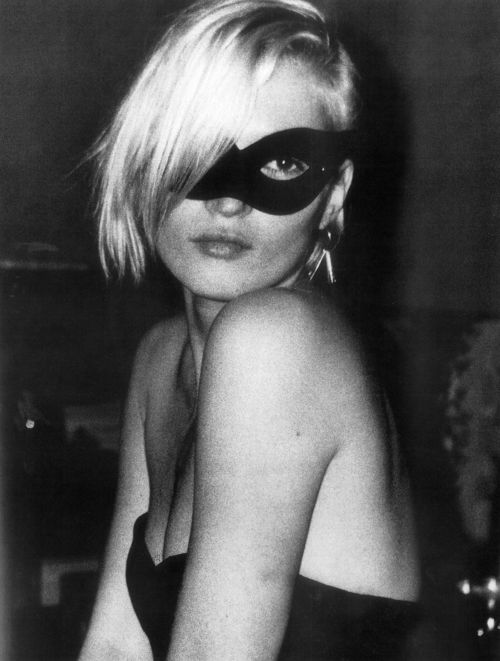 Kate moss black mask
