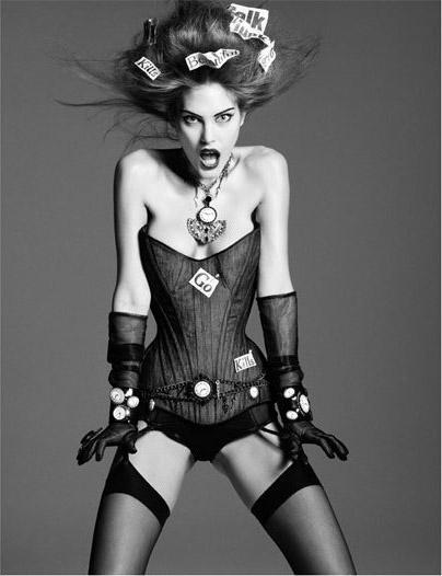 CatWoman-by Greg Kadel in Numero Magazine