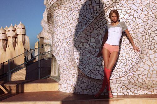 Erin Heatherton by Derek Kettela in Lady Barcelona