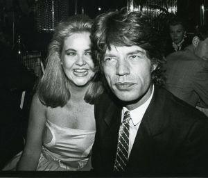 Mick JaggerCornelia  Guest  1982 NYC