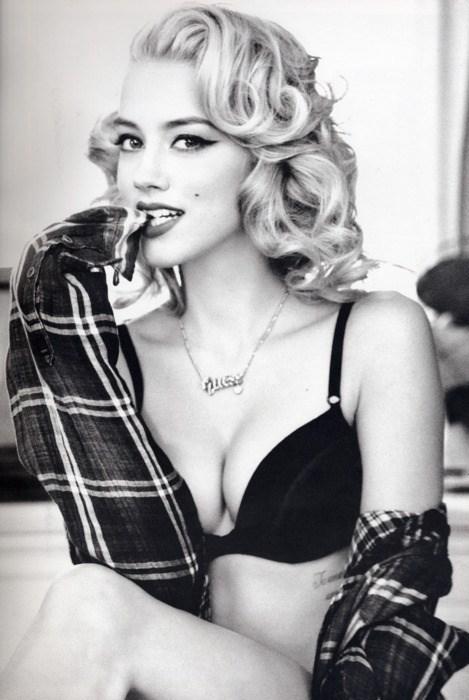 Amber Heard Monroe
