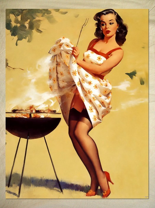 Pinup barbecue