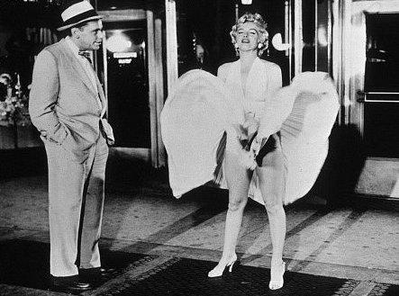 Marilyn subway grate