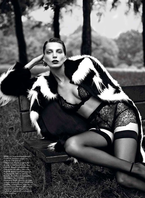 Daria werbowy in chantal thomass