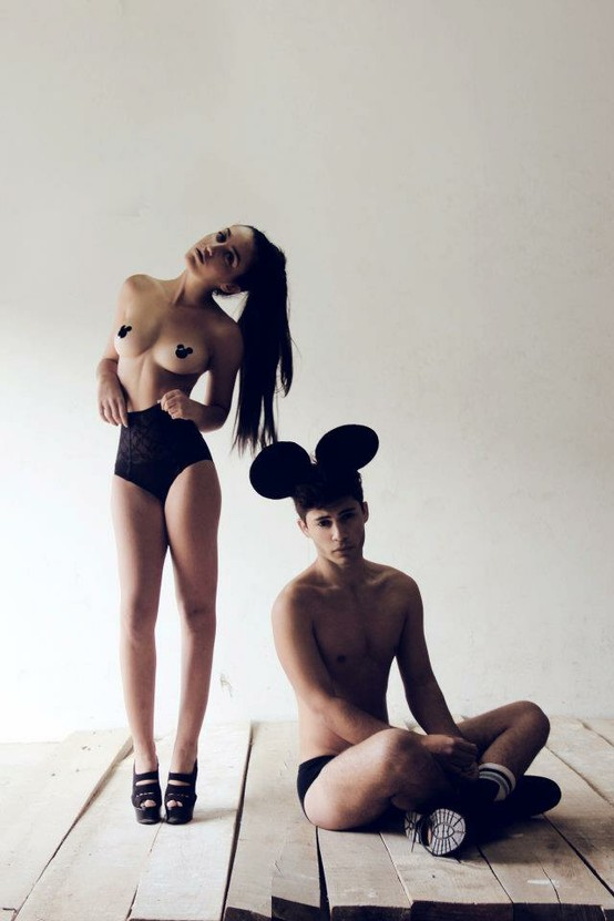 Mickey mouse nipplets