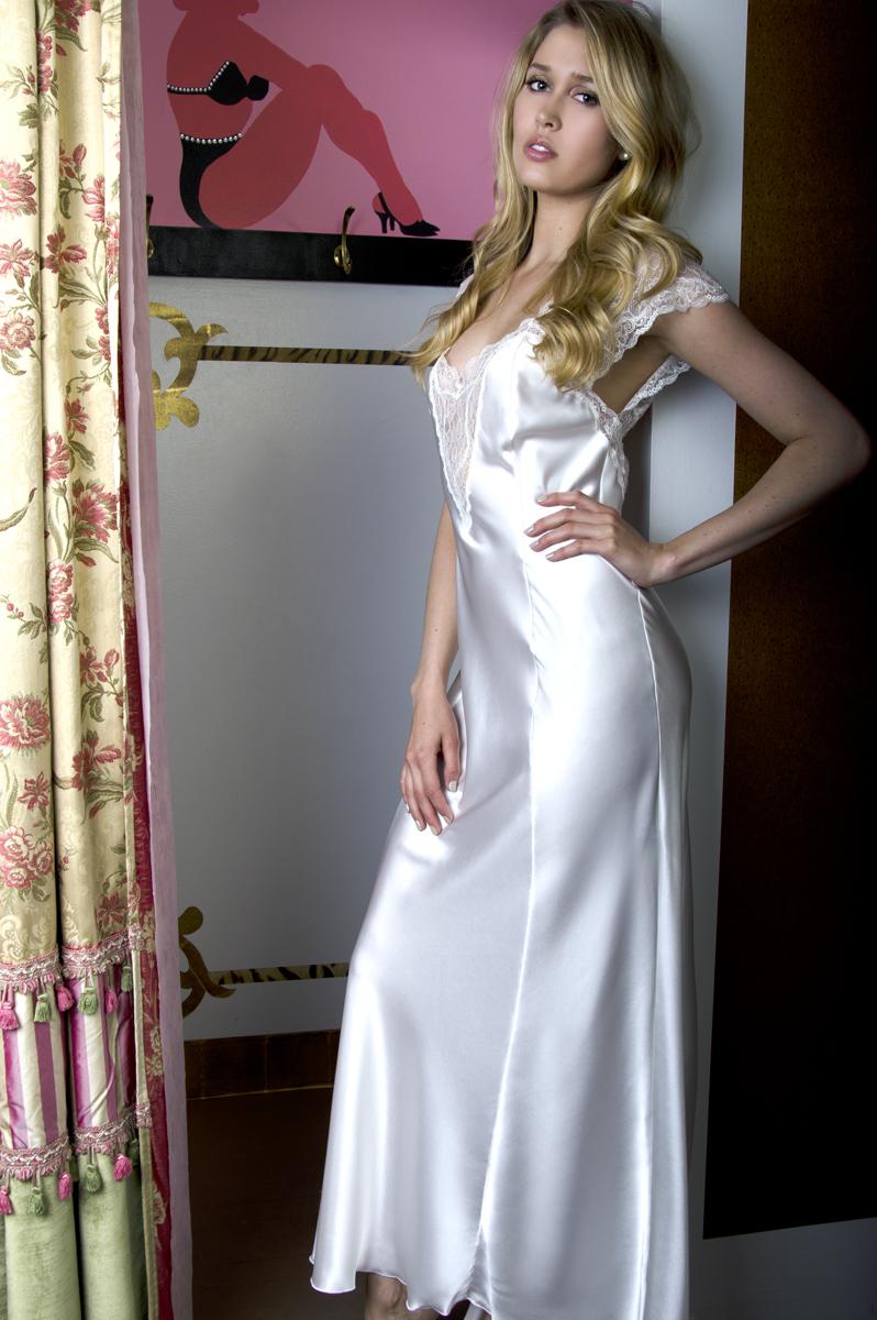 Cancer jane woolrich gown