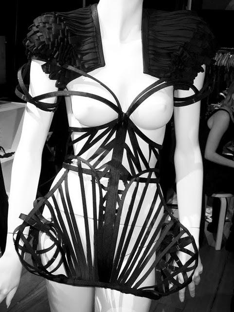 Georgia Hardinge cage dress 1