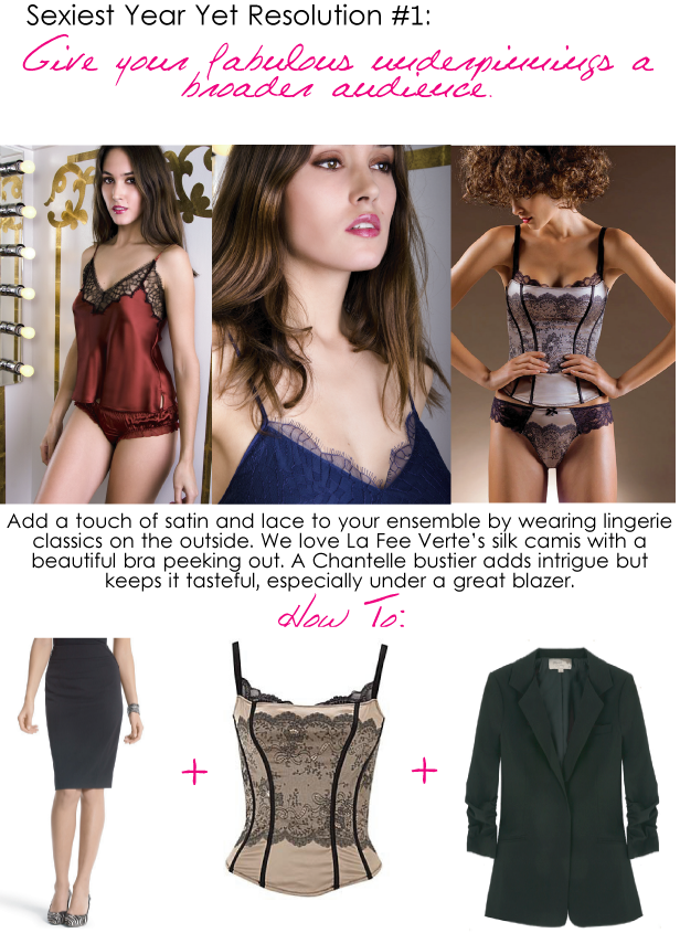 Lingerie-as-outwear