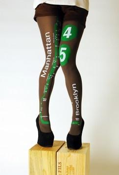 Subway tights